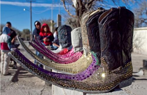 Long toed cowboy boots mexico